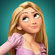 Invitacion de Cumpleaños de Rapunzel Enredados Princesas Disney