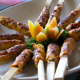 Sate lilit, sate lilit ayam, sate lilit Bali, resep rahasia, wisata kuliner, maknyus,