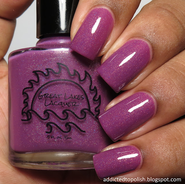 great lakes lacquer mothers mauve september limited edition