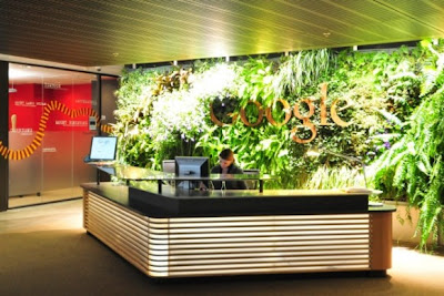 Google Frontdesk Office Design In Australia