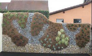 gaviones con vegetación