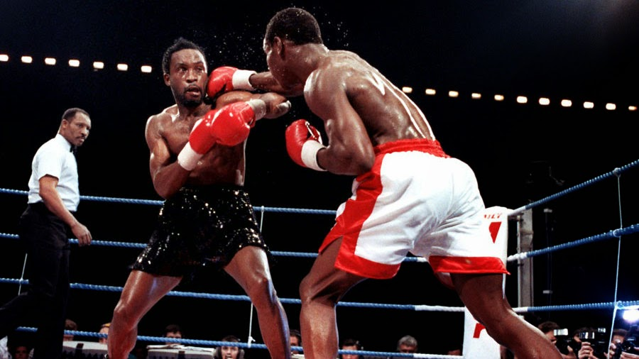 Boxing, Chris Eubank, Nigel Benn, Super Middleweight, The 90s, 1990s, Funny, Pictures than make you feel old,