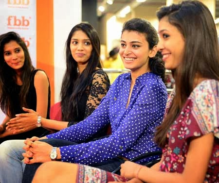Femina Miss India Beauties @Ameerpet Big Bazaar