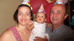 Dra. Ana Paula Vilas Boas Wheberth, minha esposa, e nossa filhinha (a rapinha) Ana Luiza