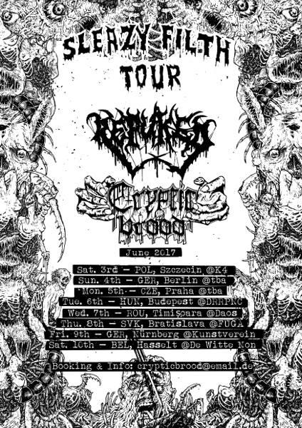 """""""Sleazy Filth"""" Tour 2017"""