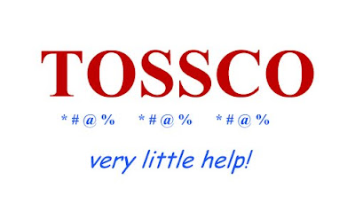 'Tossco - very little help!' - public domain.