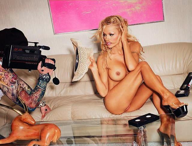 Pamela Anderson para el fotógrafo David LaChapelle