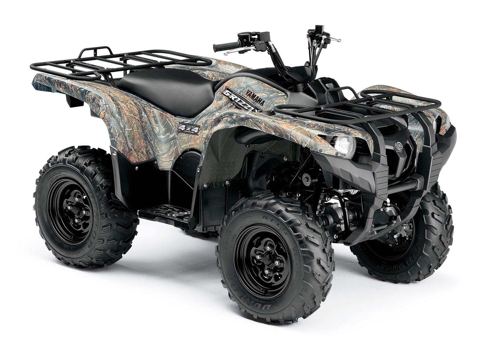 yamaha grizzly 700 fi eps ducks unlimited 2009 atv. Black Bedroom Furniture Sets. Home Design Ideas