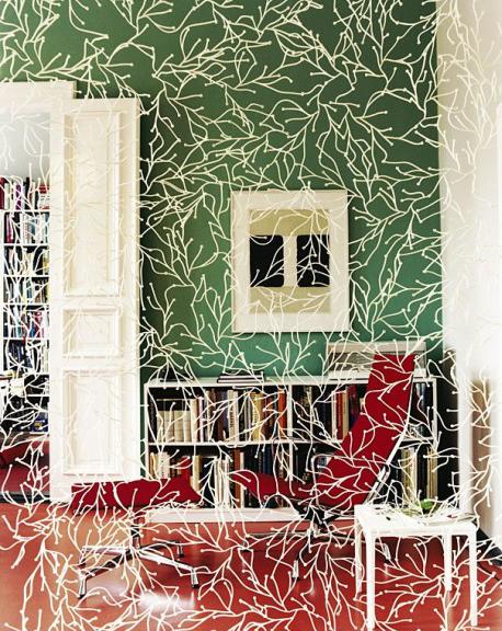 Algue Raumteiler von VITRA als Fensterdekoration, Foto: Isabel Truninger