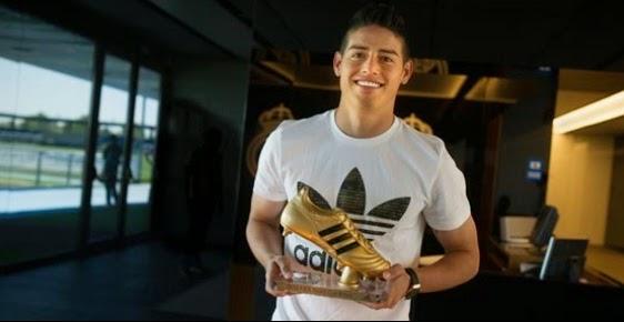 James Rodrigues Itu Lho Yang Dapat Sepatu Emas Piala Dunia 2014