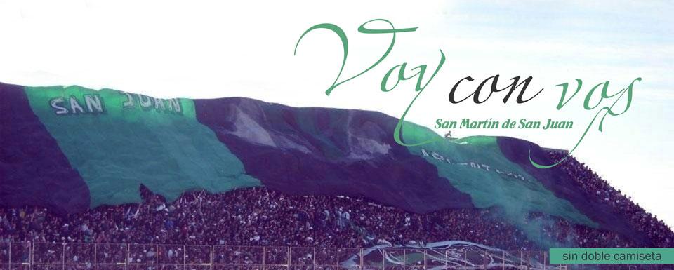 Voy con vos - San Martín de San Juan