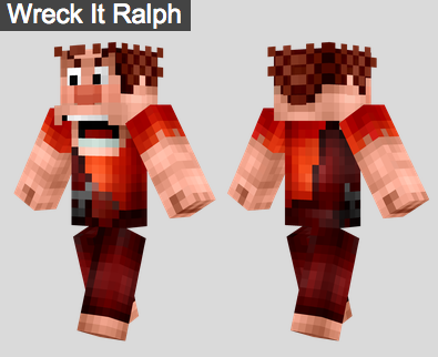 17. Wreck it Ralph Skin