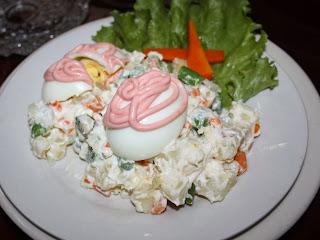 Huevos a la rusa