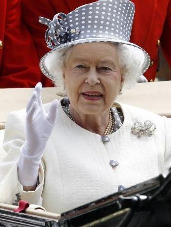 Foto de la Reina Isabel II de Inglaterra