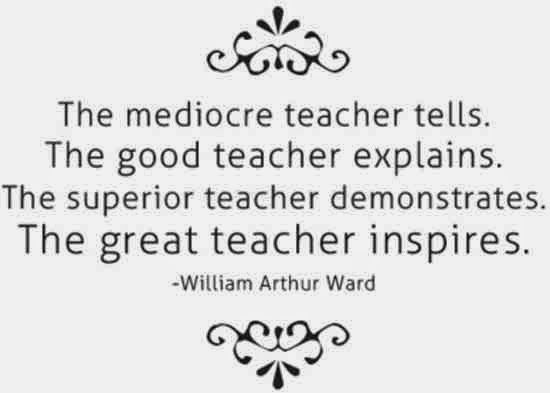 I love teaching, because I learn a lot from my job!