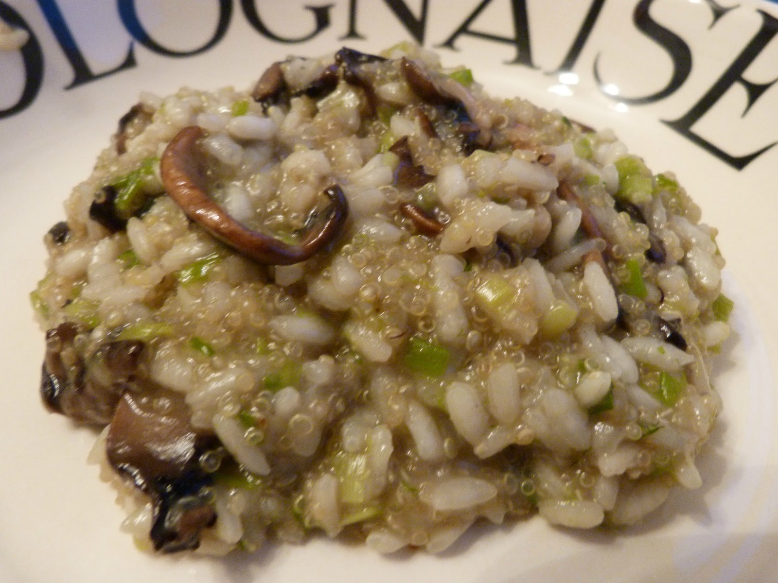 Healthy Mushroom Risotto - The Runner Beans
