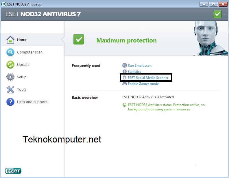 gambar eset antivirus