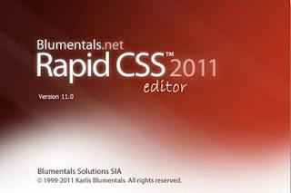 Blumentals Rapid CSS 2011 v11.3.0.132 MFShelf Software Free Download
