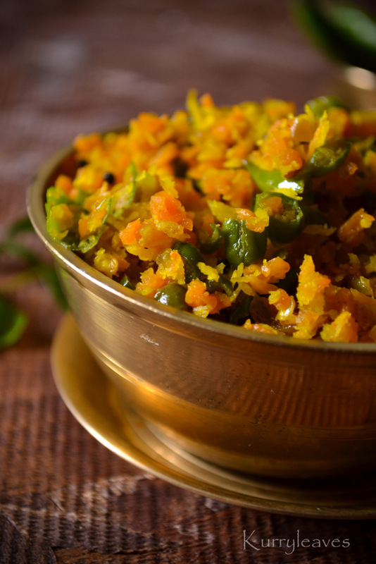 CARROT AND GREEN BEANS THORAN