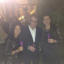 Momento Champagne Taittinger Universe Party com  Clovis Taittinger