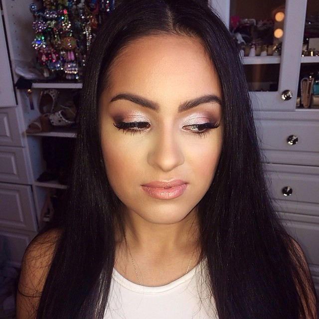 Full Face PROM Makeup Look for SMALLER Eyes! - the Beauty Bybel