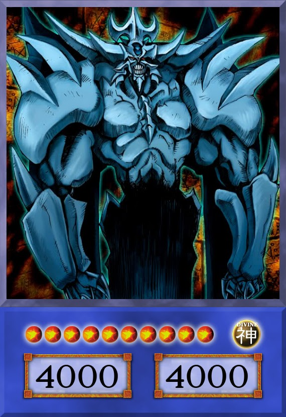 Yu-Gi-Oh! cards Yu-Gi-Oh! gods the monster trio