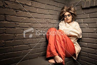 Crazy Woman Straight Jacket
