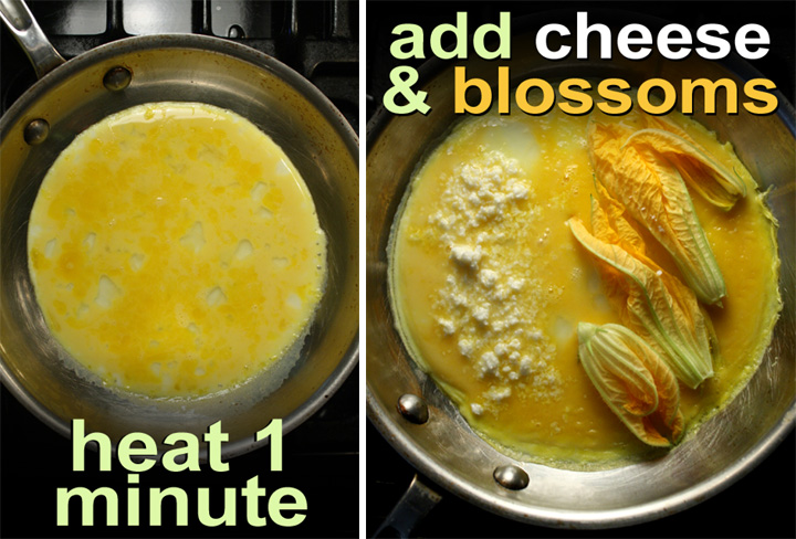 how to cook an omelet in an omelet pan