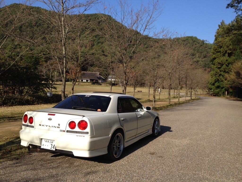 Nissan Skyline R34, sedan, 4-drzwiowy, JDM, na rynek Japonii, fotki, zdjęcia