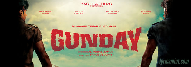 Gunday Movie Music