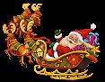 Trenó do Papai Noel em Png e Gifs