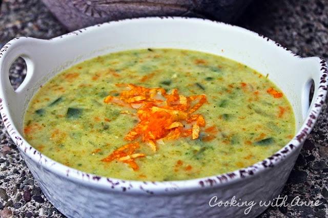 Squash-Flower-Soup