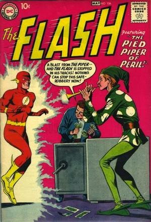 The Flash #106 cover pic