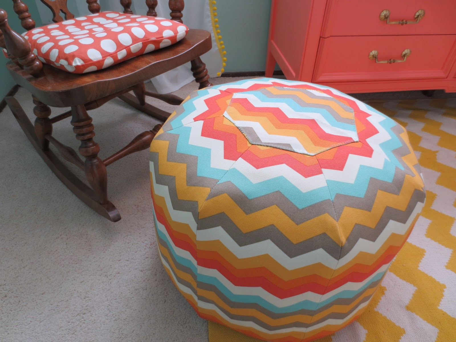 Nursery archives the kane five one of my favorite projects was the diy pouf ottoman its heavy as an elephant but so comfy on top and will be perfect for my tired feet when im rocking solutioingenieria Images