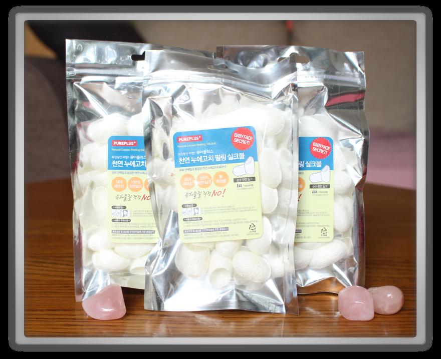 겟잇뷰티박스 by 미미박스 memebox beautybox review memeshop products haul GRANDPLAN Natural Cocoon Peeling Silk Balls  3ea