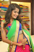 Anukruthi Glam pics in half saree-thumbnail-1
