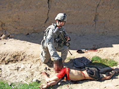 American soldier in Afganistan