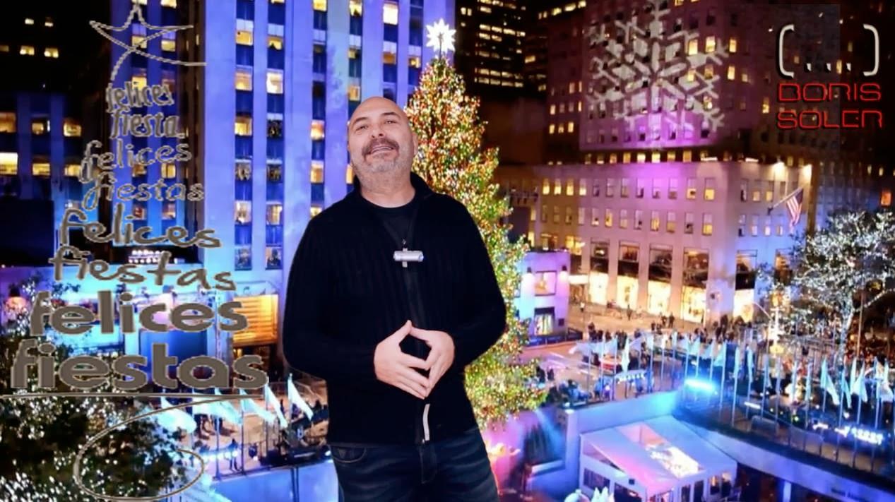 Felices Fiestas os deseamos todo el Equipo de Boris Soler desde New York