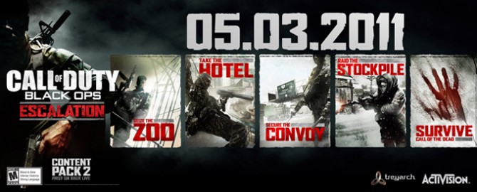 black ops map pack 2 call of the dead. cod lack ops map pack 2 call