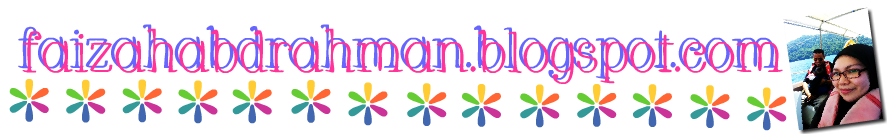 Faizah's Blogspot