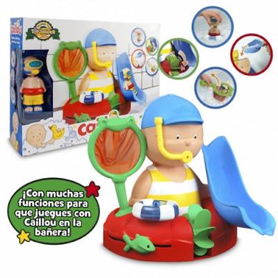 TOYS : JUGUETES - CAILLOU - Caillou hora del baño  Muñeco + accesorios   Producto Oficial 2016 | Giochi Preziosi | A partir de 3 años Comprar en Amazon España
