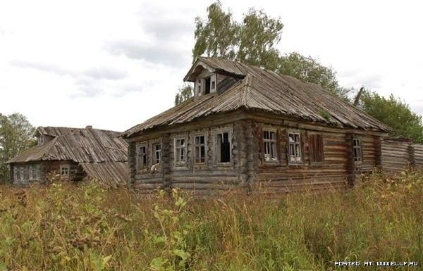 Россия заброшенные деревни поподробнее