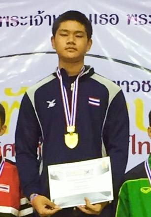 Champion Thailand 2017 Foil U-17