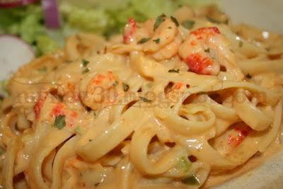 Cajun shrimp and crawfish pasta recipe