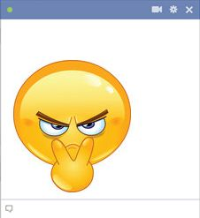 I'm Watching You Emoticon