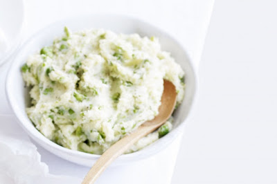 Pea and potato mash Recipe