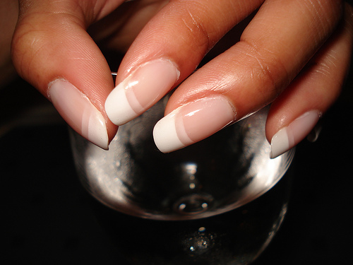 Simple French Manicure Fashion Fobia