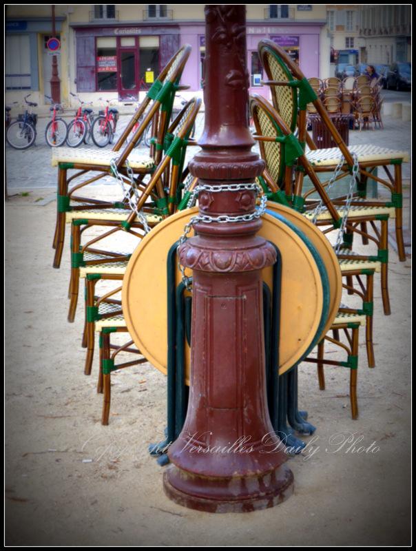Café chairs Versailles