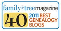 Tracing the Tribe: 2011's Best 40 Blogs - Heritage Category