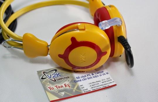 Tai nghe trâu vàng V2K ONLINE9999 chính hãng Tay nghe trau vang v2k online 9999 chinh hang 4